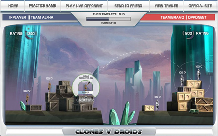 Clones vs. Droids was originally produced for international websites during