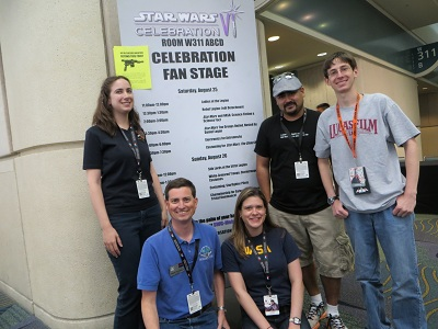 From left to right: Michelle Fitzgerald, Travis Fitzgerald, Holly Griffith, Dennis Bonilla, Eric Geller