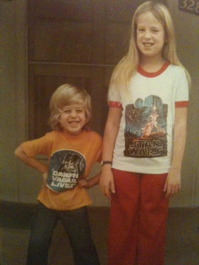 Lara Starr and Dylan Morris_Star Wars Shirts_1977