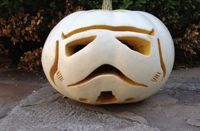 Stormtrooper Pumpkin 2