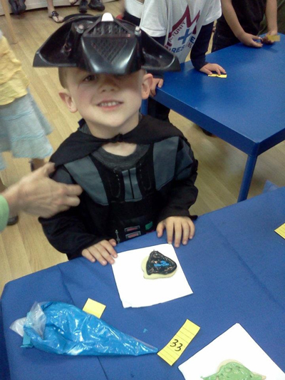 Wookiee Pies_Young Vader Decorator at Reading Bug