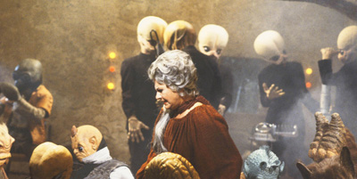 1. Could a digital Bea Arthur run another cantina