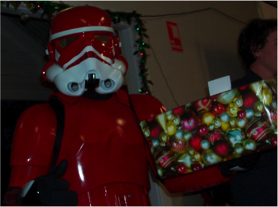 Santa Trooper of the Redback Garrison