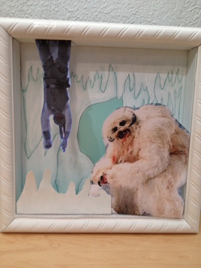 Paper Wampa Cave