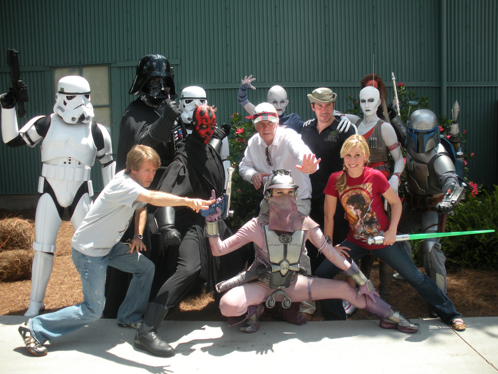 Being a part of Disney's Star Wars Weekends for the past several years has truly been an honor! I've had a blast getting to co-host the event with my dear friend, James Arnold Taylor!