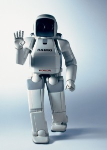 Honda's ASIMO comes close to being C-3P0 (without the annoying personality!)