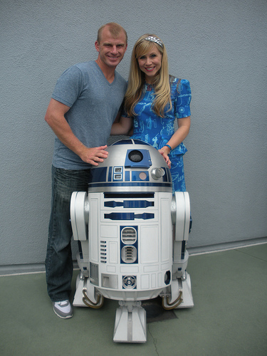 This post is dedicated to my Valentine, David and the newest member of our family R2-D2