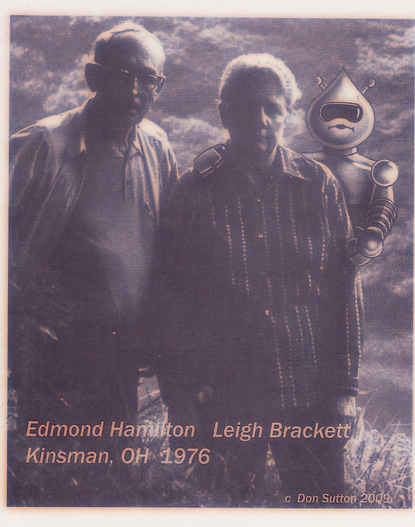 Edmond Hamilton and Leigh Brackett Kinsman Ohio 1976