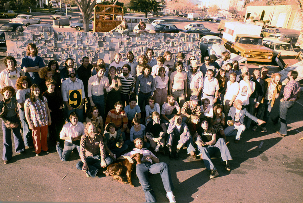 ILM Model Shop crew, 1977