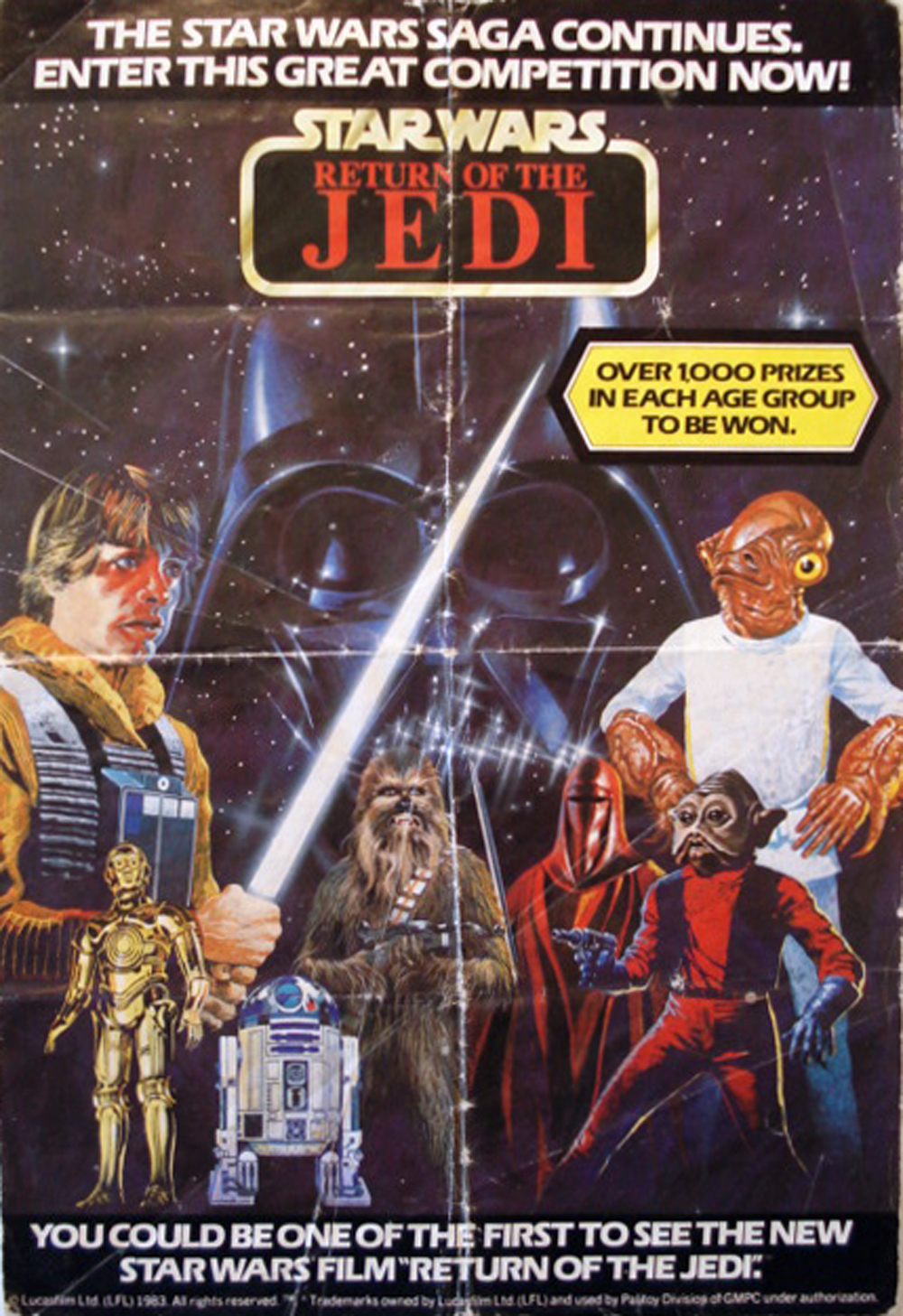 palitoy 39 s star wars ads the forgotten comics. Black Bedroom Furniture Sets. Home Design Ideas