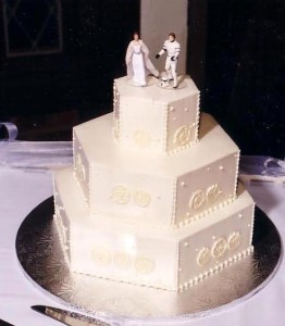 Leopold wedding cake