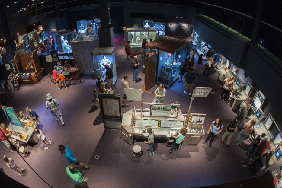Experience the science of star wars and sit in the for Star wars museum california