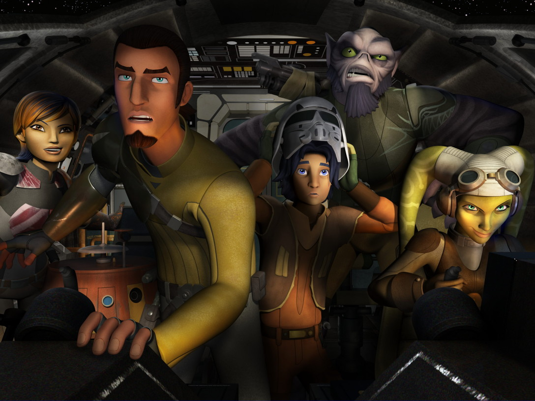 The Heroes of Star Wars Rebels SDCC 2014 Panel