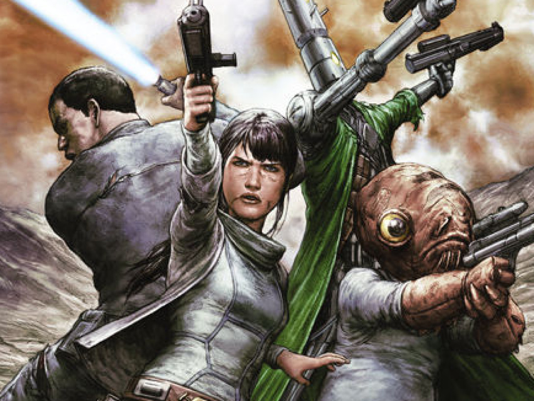 Star Wars Legacy #18 cover