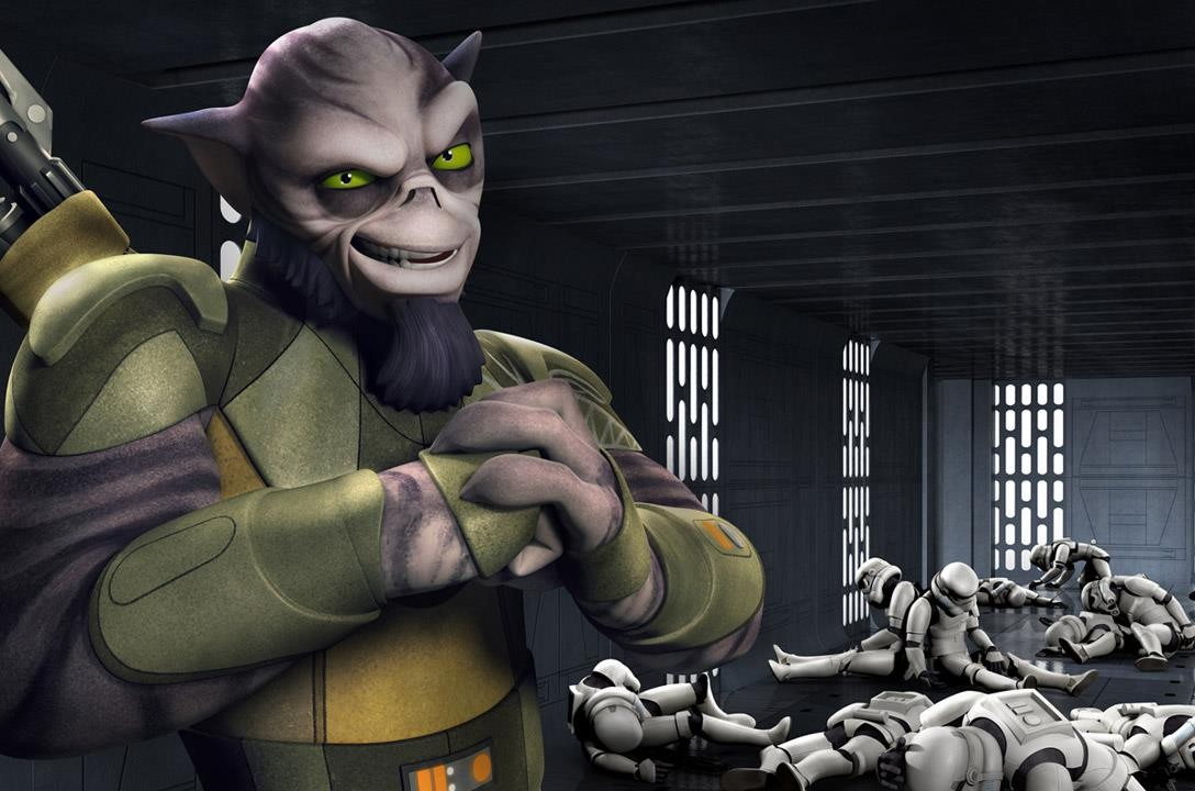 Star Wars Rebels - Zeb Orrelios