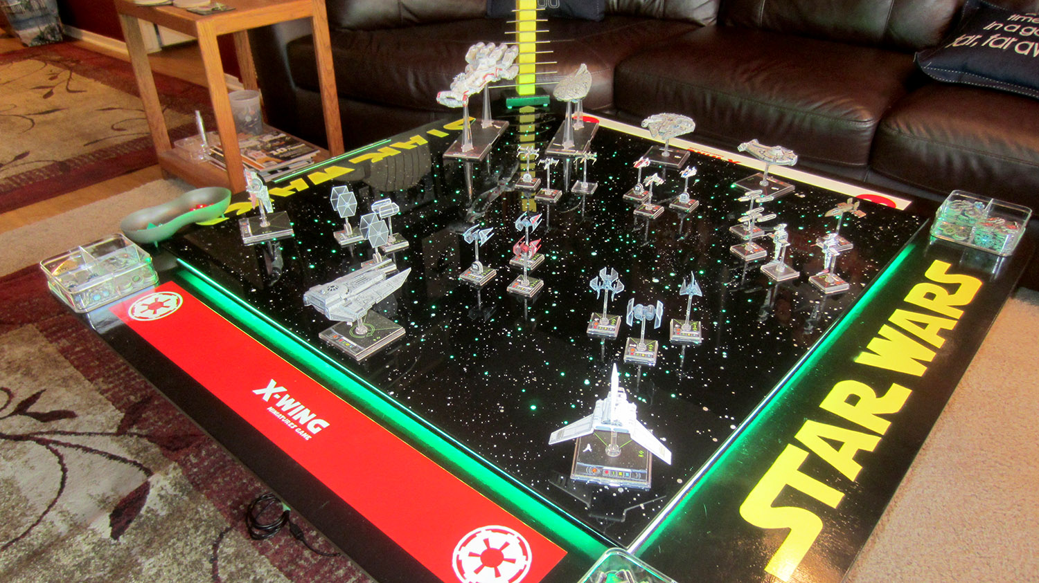 Fully Operational Fandom: Incredible Custom X-Wing Miniatures Gaming Table | StarWars.com
