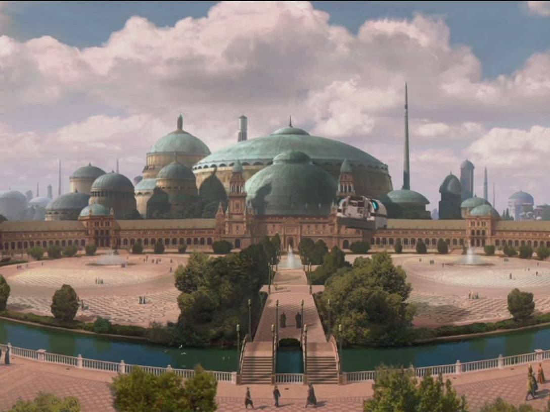 Theed Royal Palace Plaza