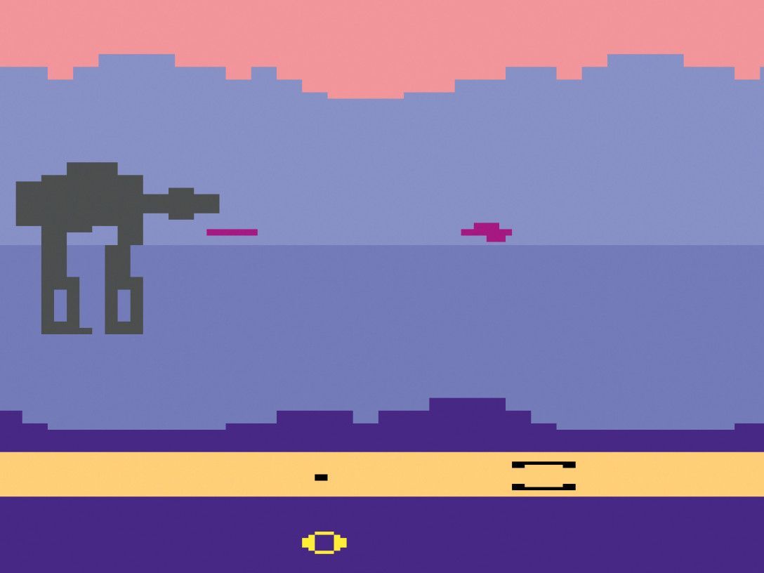 The Empire Strikes Back for Atari