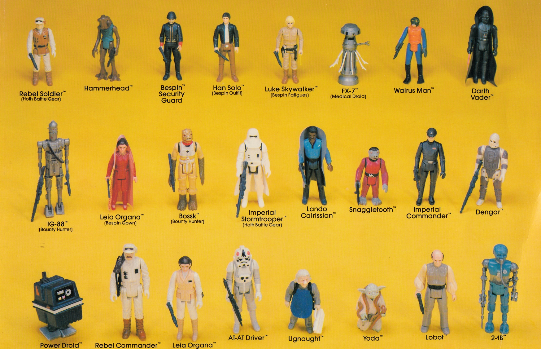 Star Wars Vintage Toys : Kenner s star wars toys variants a guide starwars
