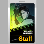Han Solo Star Wars Celebration badge