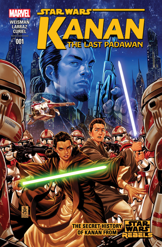Kanan: The Last Padawan cover