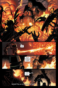 Darth Vader comic - Triple Zero and Beetee