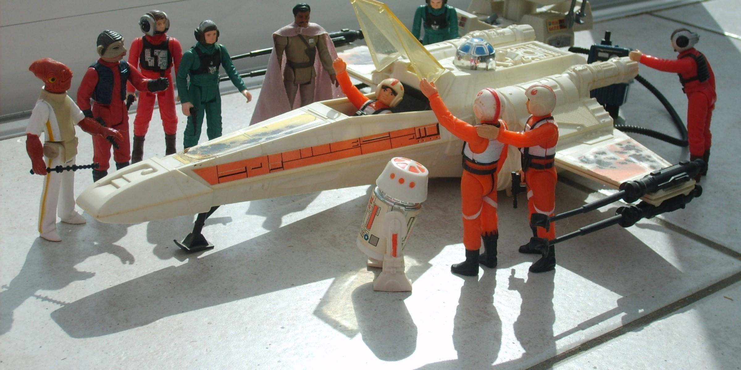 Toys Star Wars : Looking back at kenner s vintage wing fighter starwars