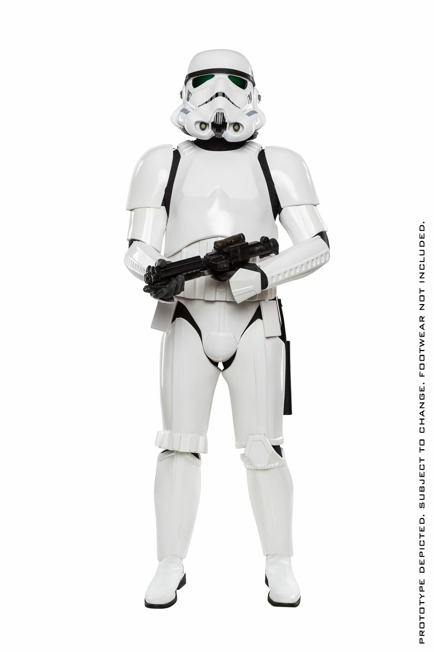 stormtrooper costume by anovos special preview. Black Bedroom Furniture Sets. Home Design Ideas