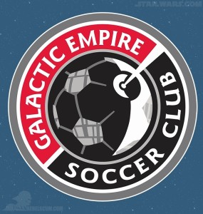 Star Wars Celebration 2015 - Galactic Empire Soccer Club Logo Patch