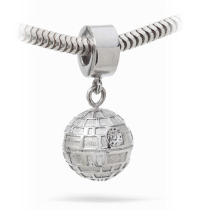 Death Star Charm Bead (compatible with all major charm bracelets)