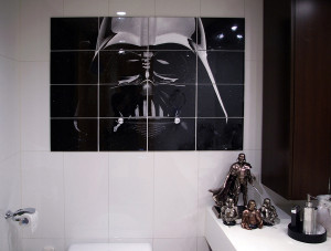 Cho Woong - Star Wars collection: Darth Vader portrait