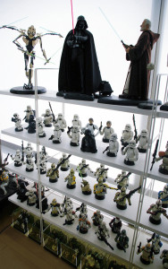 Cho Woong - Star Wars collection: Sith Lords and Imperial Trooper collectibles