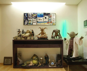 Cho Woong - Star Wars collection - Star Wars creature collectibles