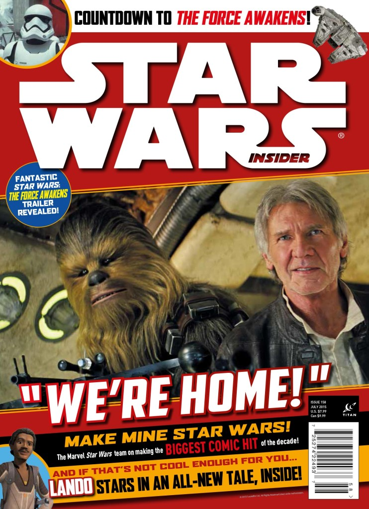 Star Wars Insider 158 Cover