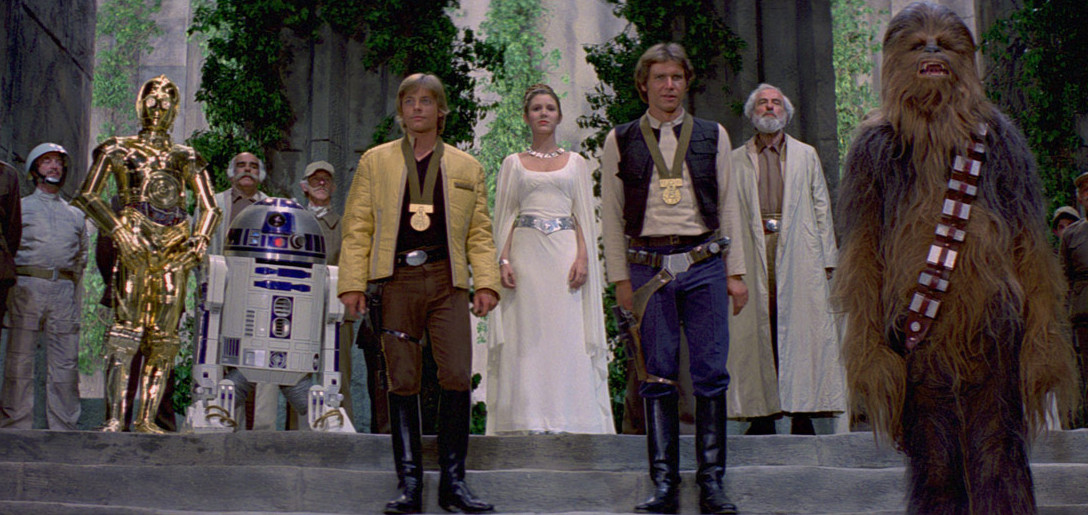 Star Wars: A New Hope - medal ceremony
