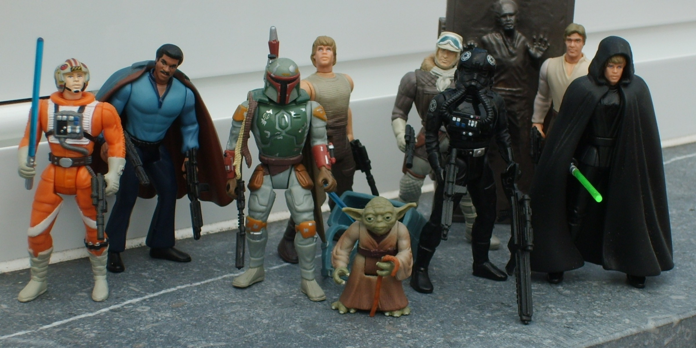 Toys Star Wars : The power of force s figures starwars