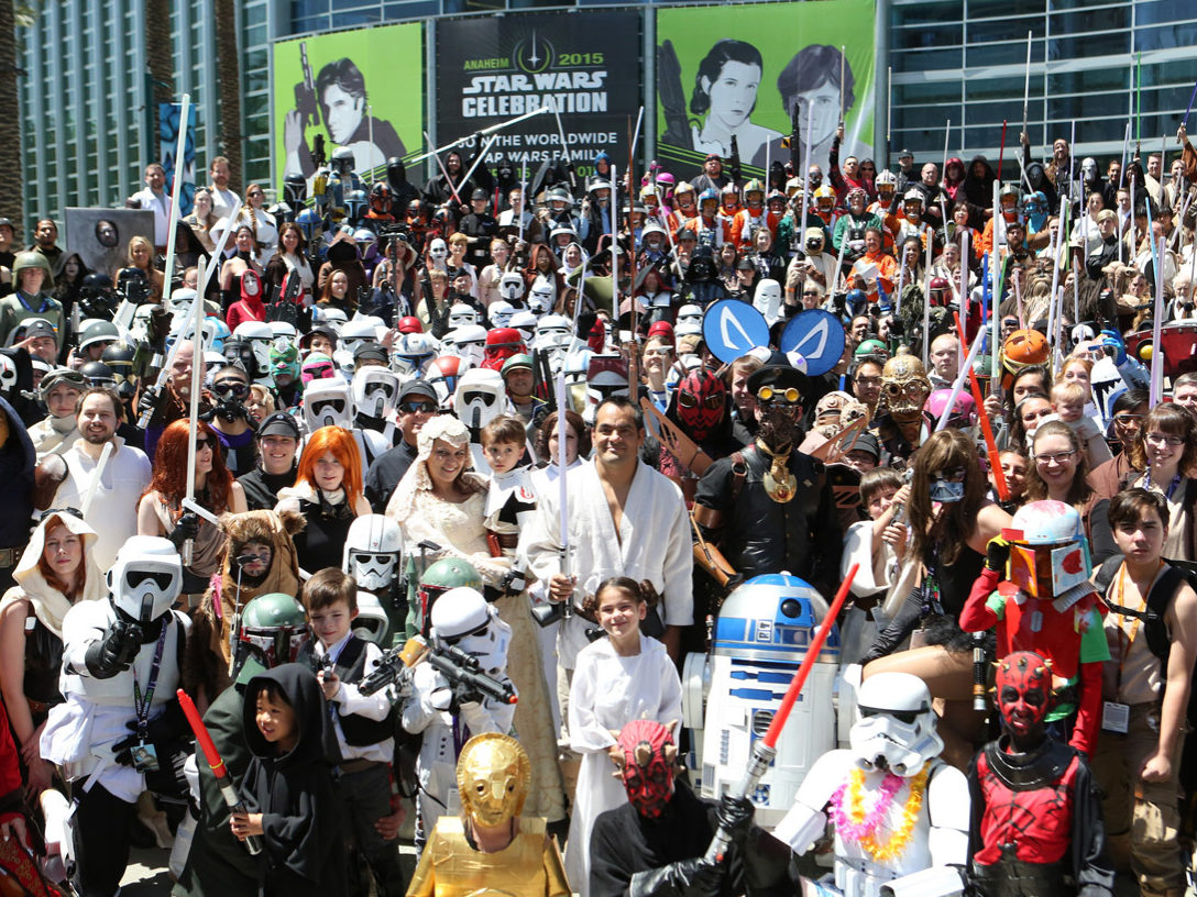Star Wars fans at Celebration