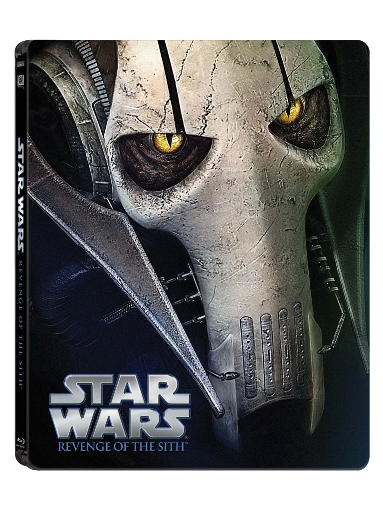 Star Wars Blue-ray - General Grievous cover