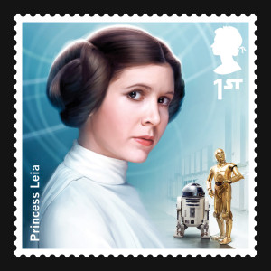 Princess Leia stamp