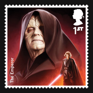 Darth Sidious stamp