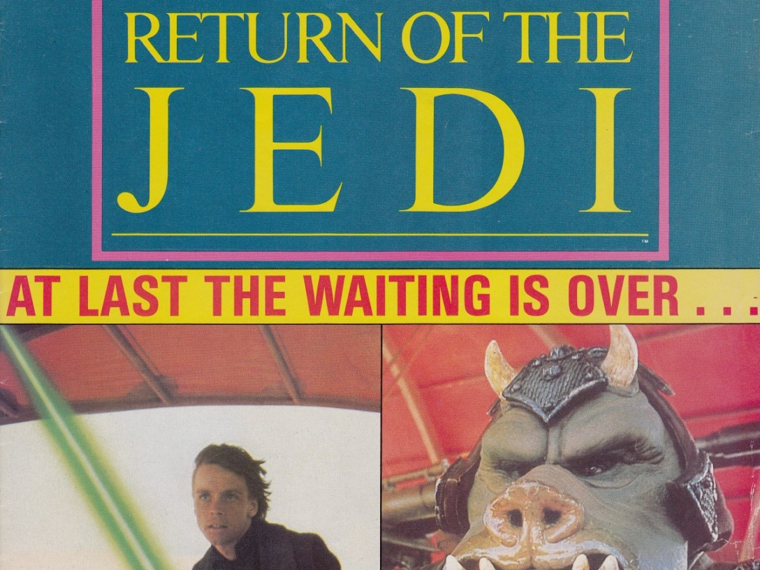 Return of the Jedi magazine