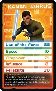 Top Trumps - Kanan
