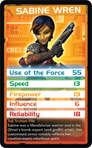 Top Trumps - Sabine