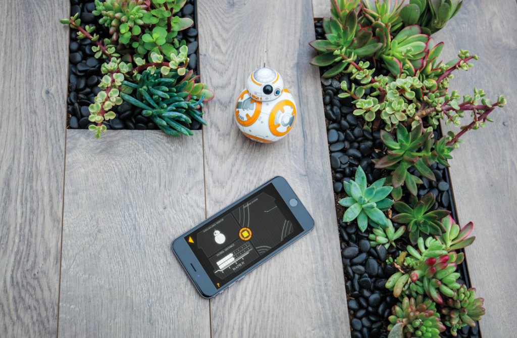 Sphero BB-8 toy - cell phone controlled