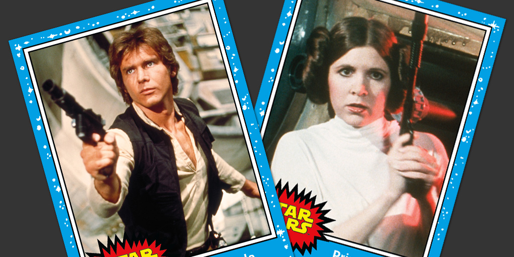 Journey to Star Wars: The Force Awakens trading cards