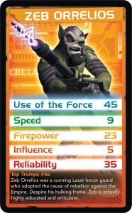 Top Trumps - Zeb