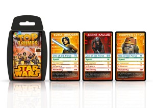 Top Trumps - Rebels
