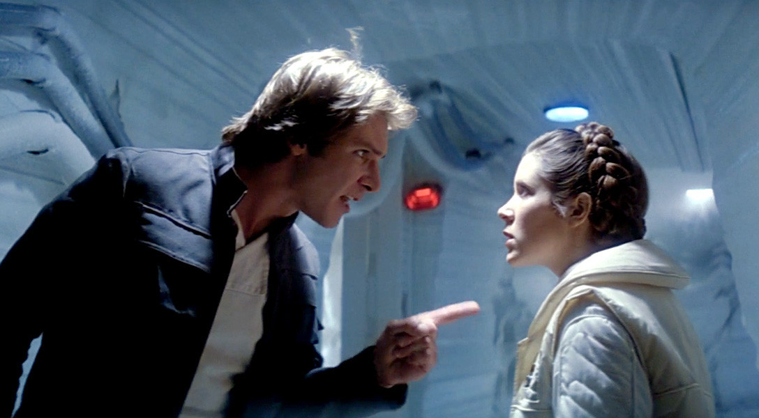 Episode V - Leai and Han on Hoth Fighting
