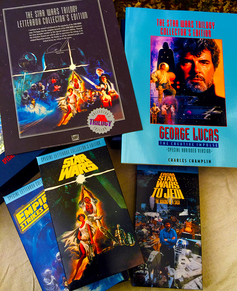 Star Wars VHS - Special Letterbox Collector's Edition