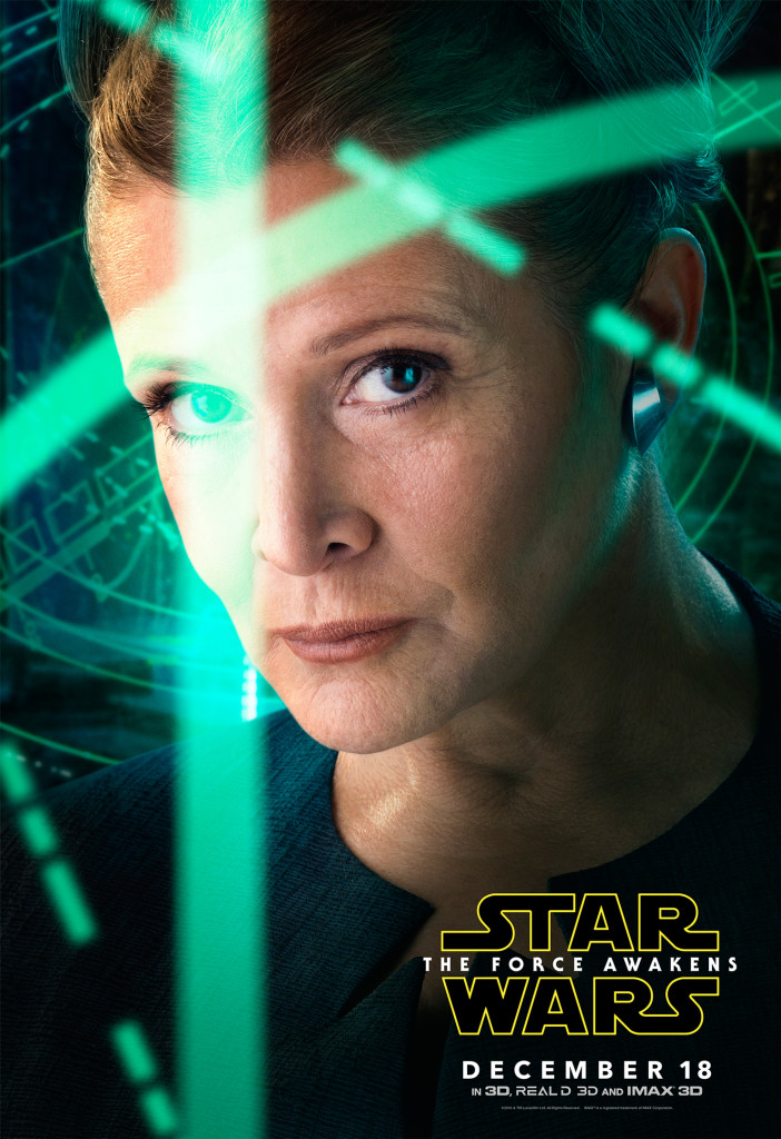 Leia - Star Wars: The Force Awakens Character Poster